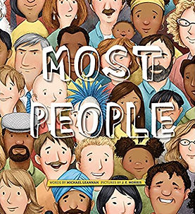 Most People  (Tilbury House)  --Published 2017--