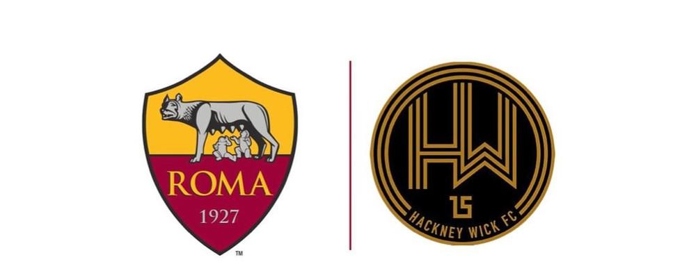 Hackney Wick FC X AS Roma partnership