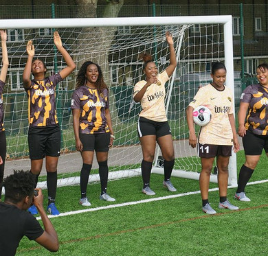 Women's football FREE training sessions