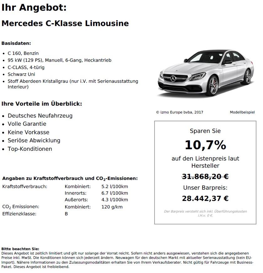 Mercedes-Benz C Klasse