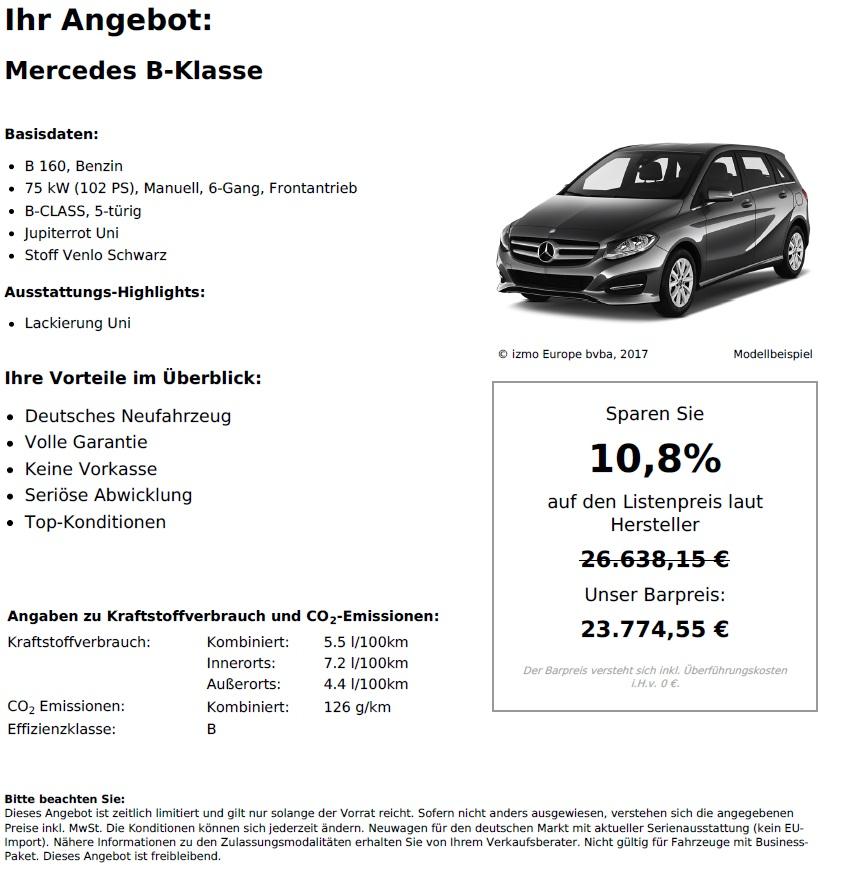 Mercedes-Benz B Klasse