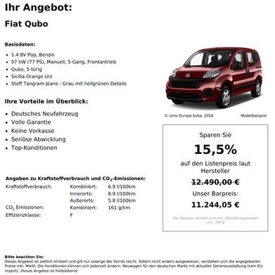 Fiat Qubo 1.4 8V