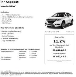 Honda_HR-V_1.5_i-VTEC_Comfort,_Benzin_11,2%_Neuwagenrabatt_ab_€18.967,-_5-8_Monate_Lieferzeit