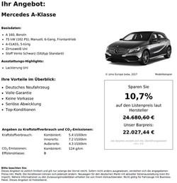 Merceds Benz A Klasse