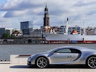 Neuer Bugatti-Showroom in Hamburg