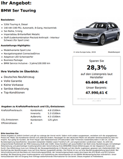 BMW 5er Touring 520d Touring A, Diesel