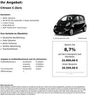 Citroen C-Zero 49kW, elektrisch