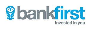 Bank First Logo Horizontal (Strapline) F