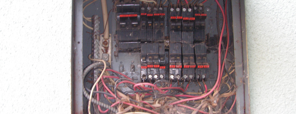 Before Panel Upgrade Job 2