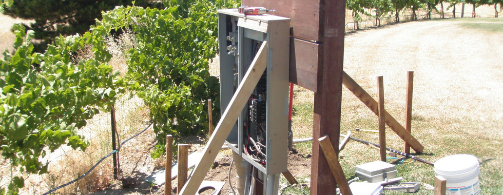 Panel Backboard Replacement During