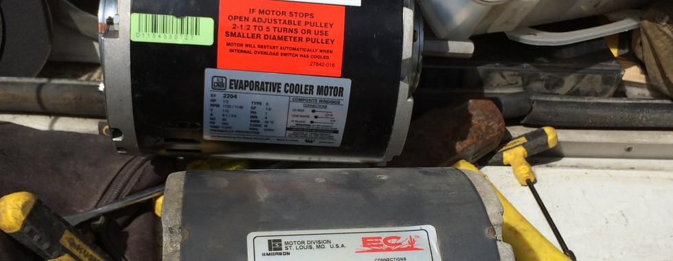 Swamp Cooler Motor Replacement