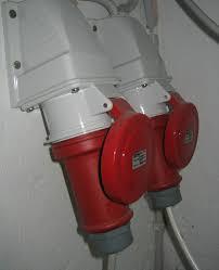 Three Phase Power Plug
