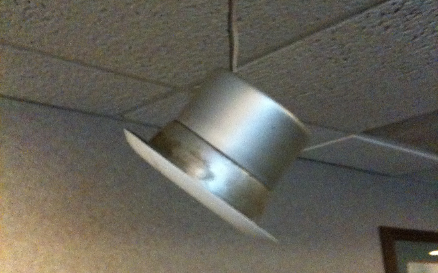 Recessed Light Fell Out Of Its Housing