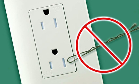 TR outlet With Bobby Pin
