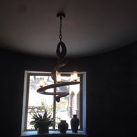 Spiral Light Fixture