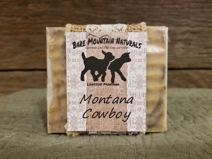 Montana Cowboy Goat Milk Soap