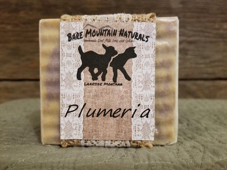 Plumeria Fragrance All Natural Goat Milk Soap