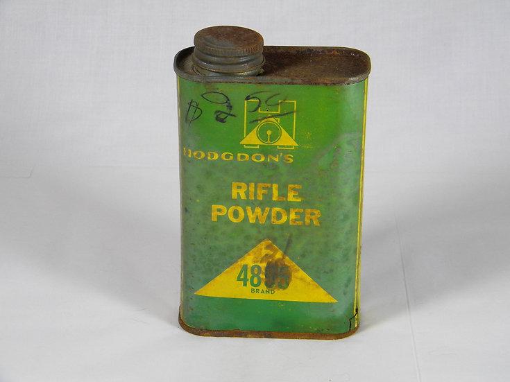 Vintage Hodgdon Gun Powder Tin