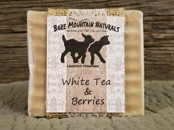 White Tea & Berries All Natural Goat Milk Soap
