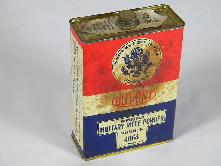 Vintage Dupont Gun Powder Tin