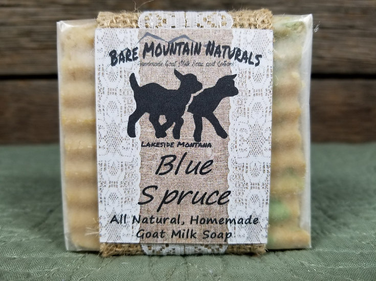 Blue Spruce Fragrance All Natural Goat Milk Soap