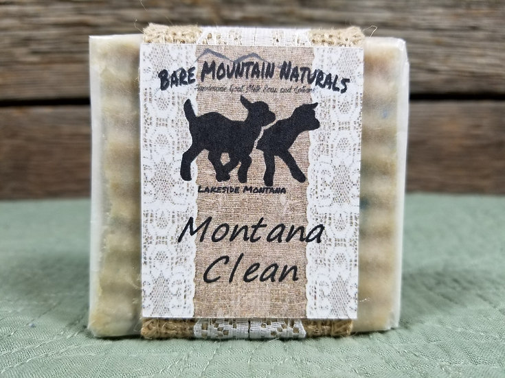 Montana Clean All Natural Goat Milk Soap