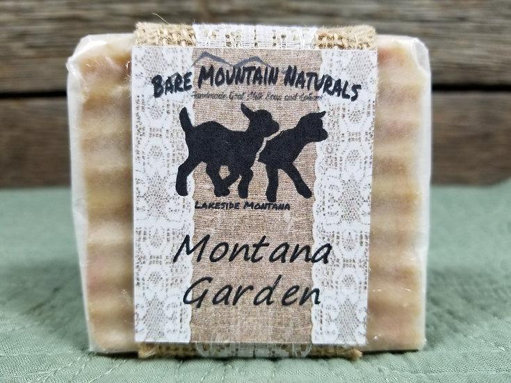 Montana Garden Fragrance All Natural Goat Milk Soap