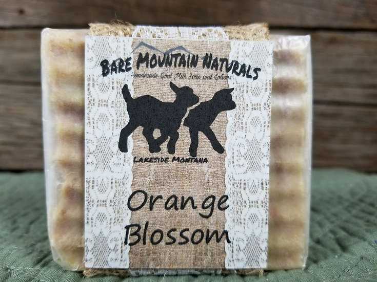 Orange Blossom Fragrance All Natural GoatMilk Soap