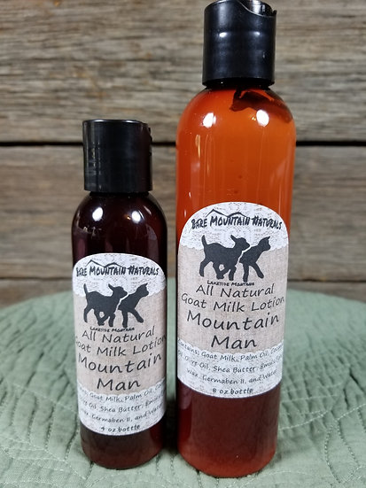 Mountain Man All Natural Goat Milk Lotion
