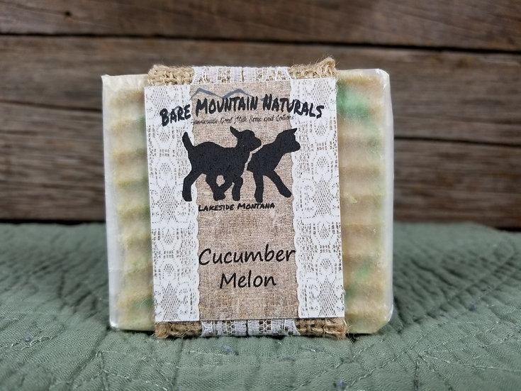 Cucumber Melon Fragrance All Natural Goat Milk Soap