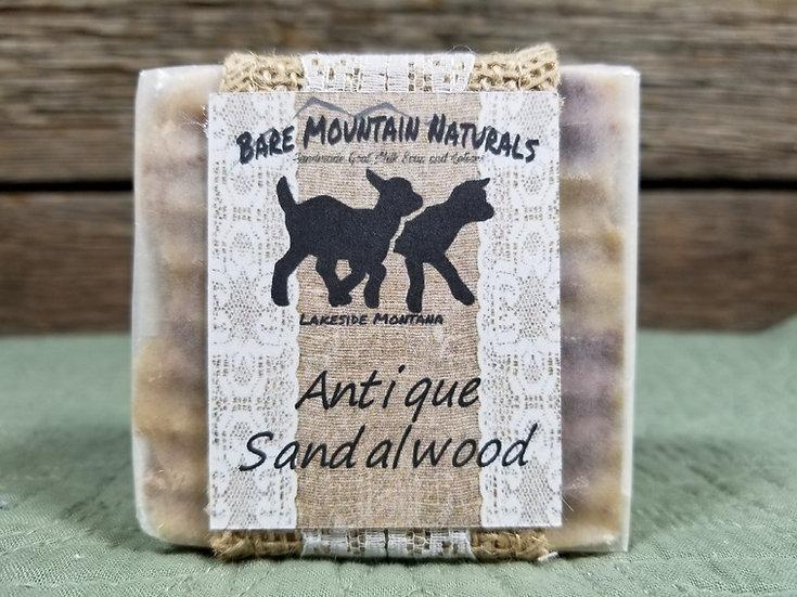 Antique Sandalwood Fragrance All Natural Goat Milk Soap