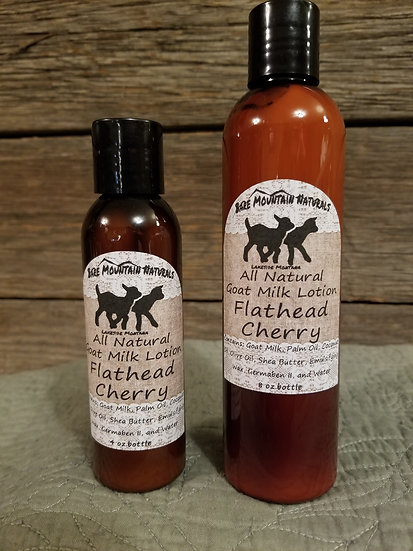 Flathead Cherry All Natural Goat Milk Lotion