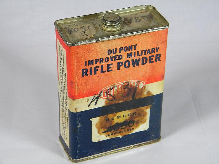 Vintage Dupont Gun Powder Tin