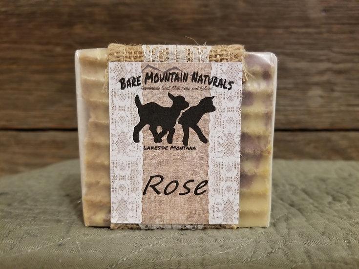 Rose Fragrance All Natural Goat Milk Soap
