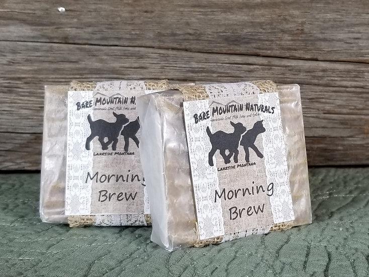 Morning Brew Fragrance All Natural Goat Milk Soap