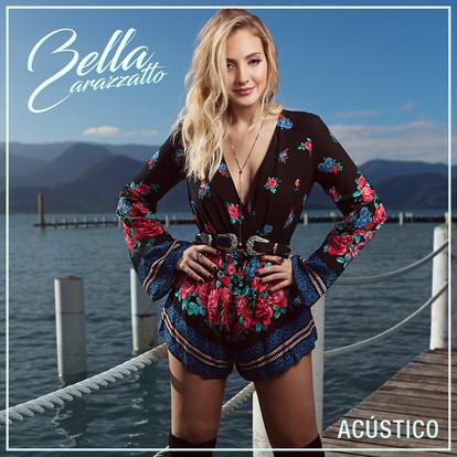 """Capa do EP """"Bella Carazzatto Acústico"""""""