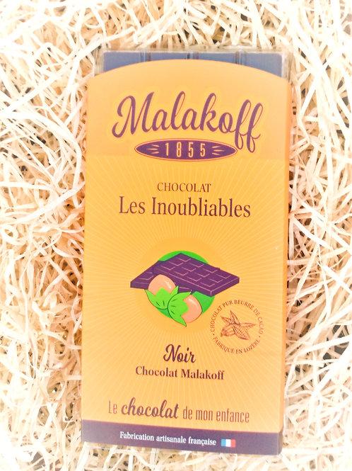 Tablette Chocolat Noir Malakoff