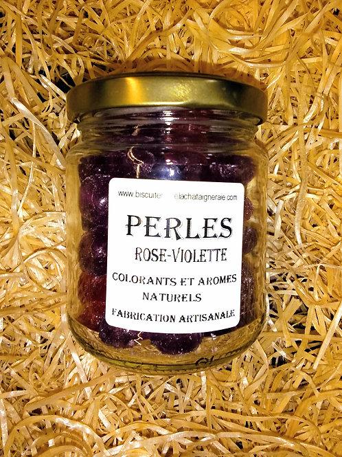 Perles arôme Rose-Violette