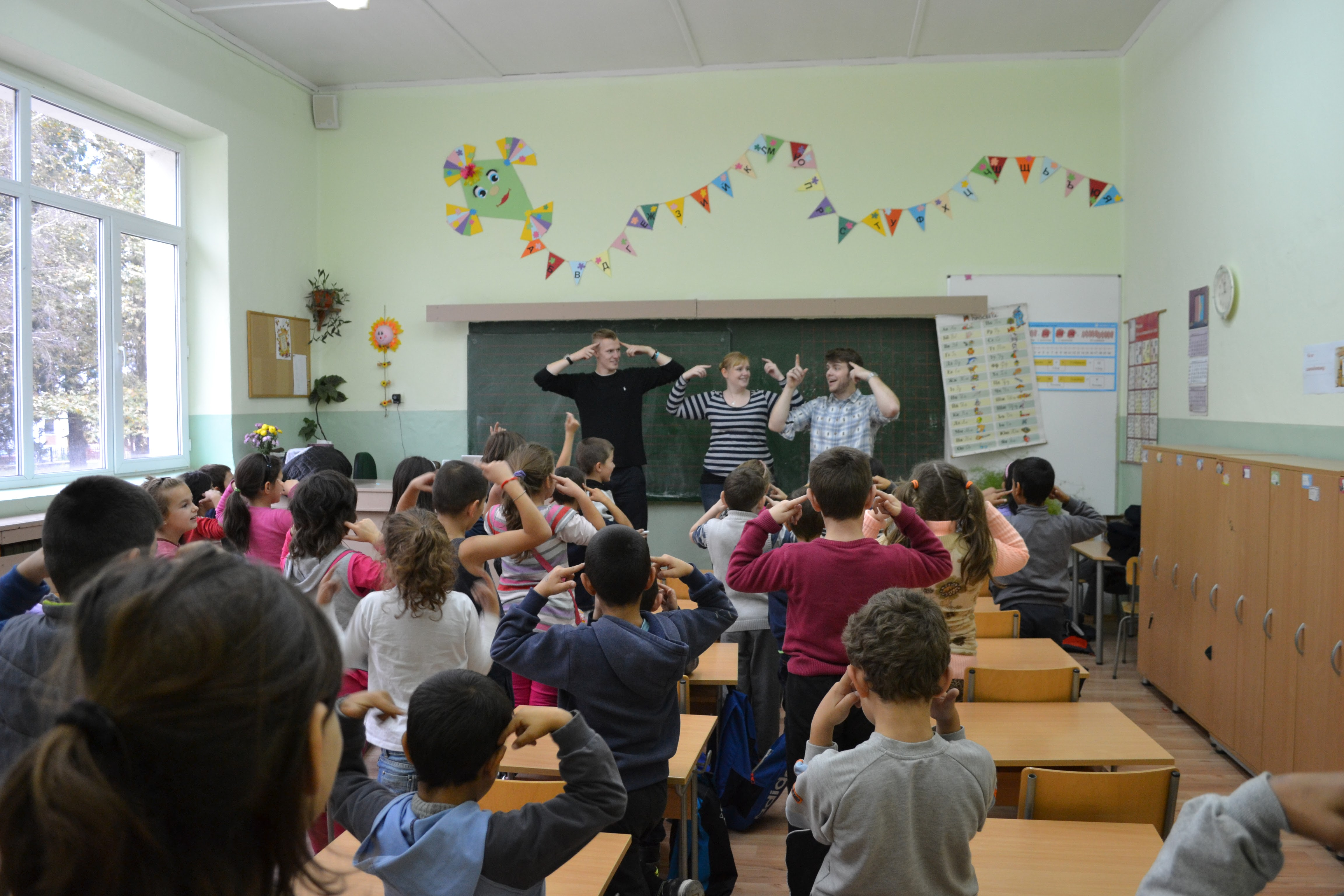 Overseas schools ministry