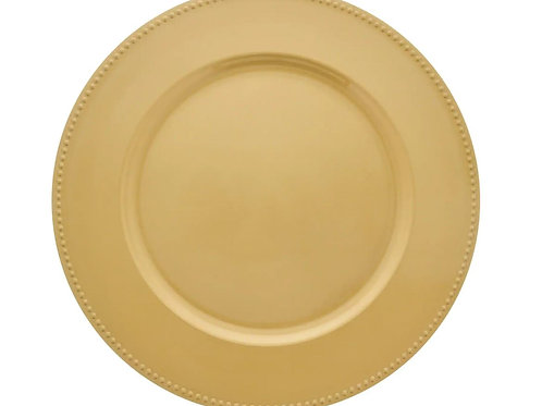 Charger Plates Gold