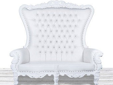 Double High Back Throne