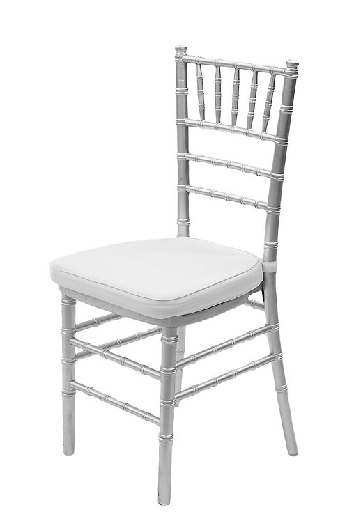 Chivarri Chairs : Silver with Ivory Pillow