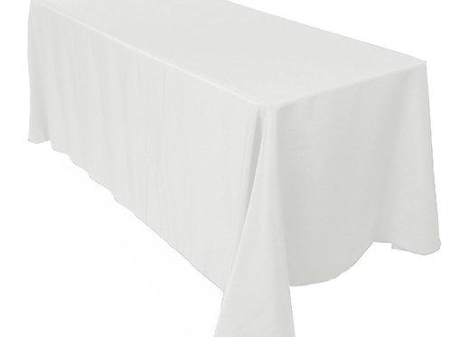 White Table Linen: Rectangle