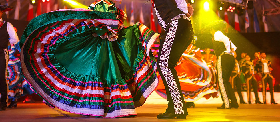 Mexico national costume. Hispanic Dancers show.jpg