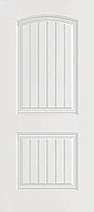 2P Planked Camber Top Door