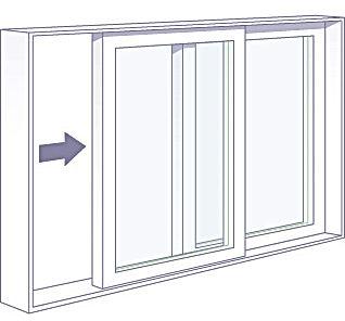 PVC Casement/Picture Window Combination