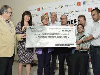 Grandes Ilusiones consigue más de 40.000 € para personas con discapacidad intelectual de la región d