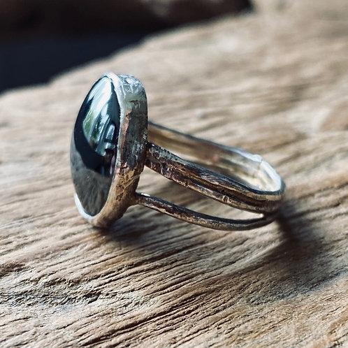 Hematite Stone Ring