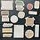 Thumbnail: Fremdgebibert   Washisticker    Rahmen & Muster    50 Stück