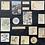 Thumbnail: Vintage Journalingsticker | Sonnenblume  | Fremdgebibert | 20 Stück
